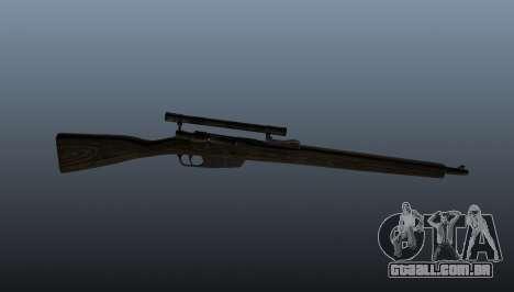 Carcano rifle de sniper para GTA 4 terceira tela