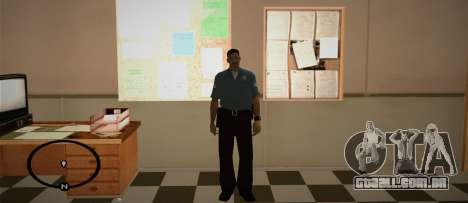 Cadet Of The Police Academy para GTA San Andreas