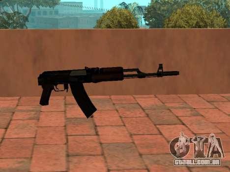 Buttstock AK-74 para GTA San Andreas