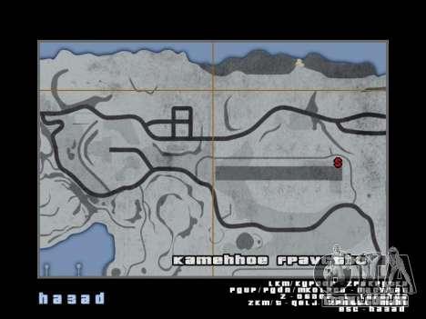 Mapear no estilo de GTA 5 para GTA San Andreas sexta tela
