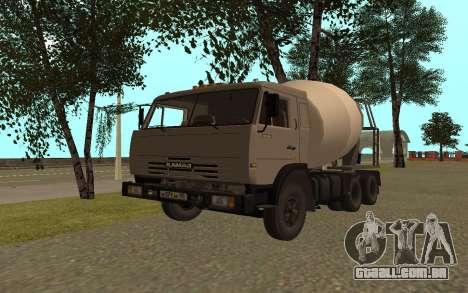 Camiões KAMAZ 53115 para GTA San Andreas