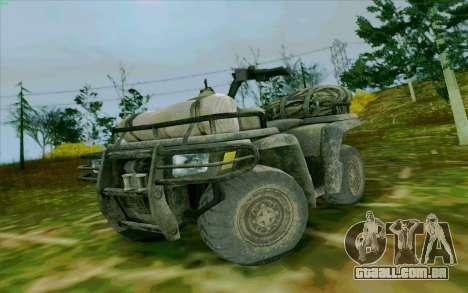 ATV da medalha de honra para GTA San Andreas