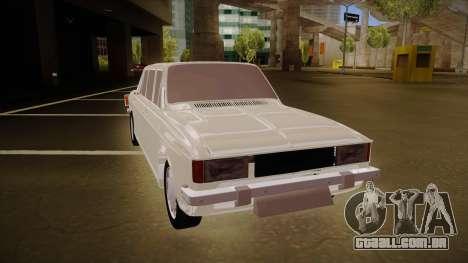 Paykan Limousine para GTA San Andreas esquerda vista