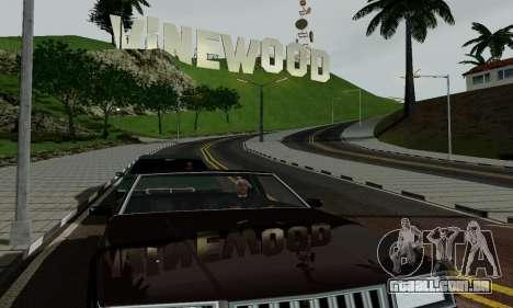 ENBSeries for low PC para GTA San Andreas sexta tela