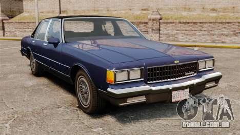 Chevrolet Caprice Brougham 1986 para GTA 4