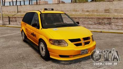 Dodge Grand Caravan 2005 Taxi NYC para GTA 4