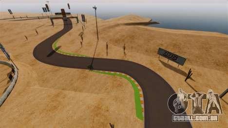 Localização DesertDrift ProStreetStyle para GTA 4 por diante tela