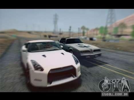 Nissan GT-R Egoist v2 para GTA San Andreas traseira esquerda vista