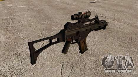 Automática HK G36C v3 para GTA 4 segundo screenshot