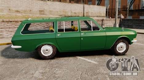 Volga GAZ-24-02 para GTA 4 esquerda vista