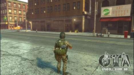 Um soldado russo v 1.0 para GTA 4 segundo screenshot