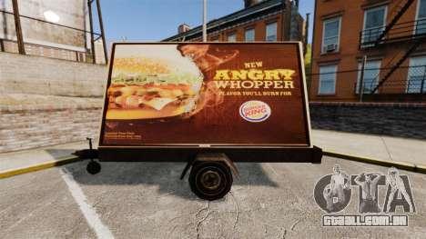A nova publicidade sobre rodas para GTA 4 segundo screenshot