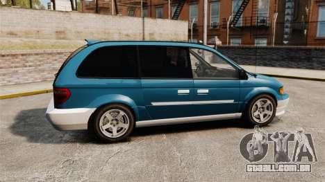 Dodge Grand Caravan 2005 para GTA 4 esquerda vista