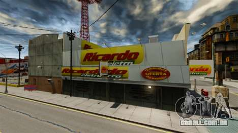 Lojas brasileiras para GTA 4 segundo screenshot