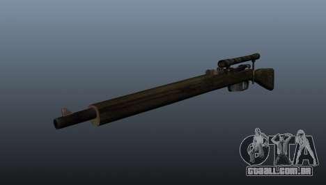 Carcano rifle de sniper para GTA 4