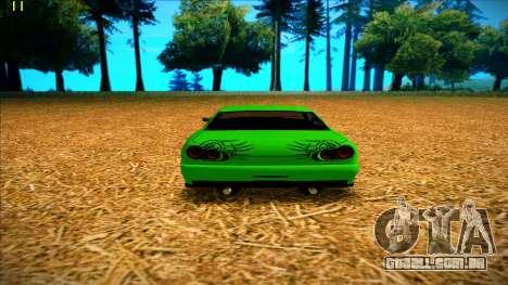 Paintjobs EQG Version for Elegy para GTA San Andreas por diante tela