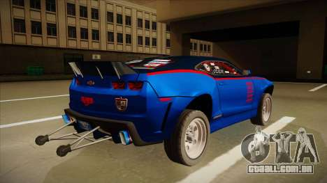 Chevrolet Camaro ZL1 Elite para GTA San Andreas vista direita