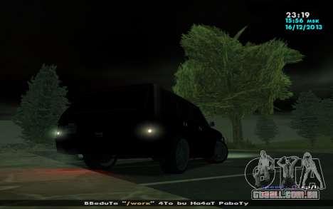Huntley Mp-Bandit para GTA San Andreas vista traseira