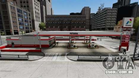 Pertamina posto de gasolina para GTA 4 segundo screenshot