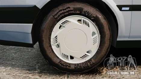 Fiat Tempra SX.A v2.0 para GTA 4 vista de volta