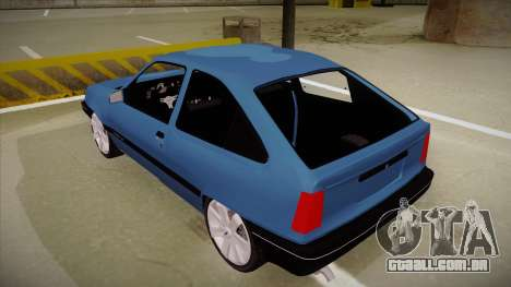 Chevrolet Kadett para GTA San Andreas vista traseira