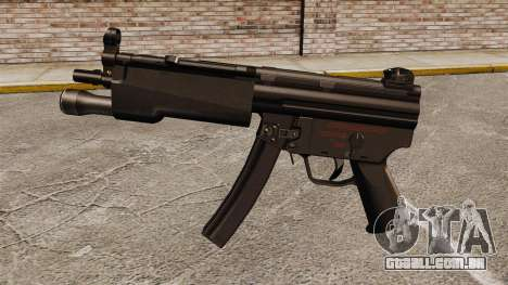 Pistola-metralhadora HK MP5 para GTA 4 terceira tela