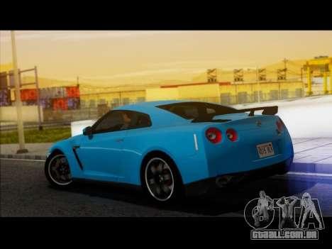 Nissan GT-R Egoist v2 para GTA San Andreas esquerda vista