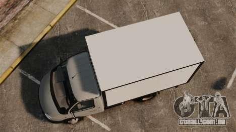 Negócio de gaz-3302 para GTA 4 vista direita