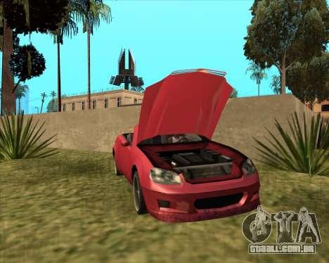 Feltzer benfeitor do GTA 4 para GTA San Andreas traseira esquerda vista