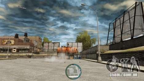 A localização central do radar para GTA 4