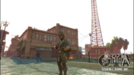 Um soldado russo v 1.0 para GTA 4 terceira tela