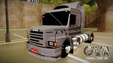 Scania 113H Top Line Neee Edit para GTA San Andreas