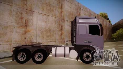 Volvo FH12 Globetrotter para GTA San Andreas traseira esquerda vista