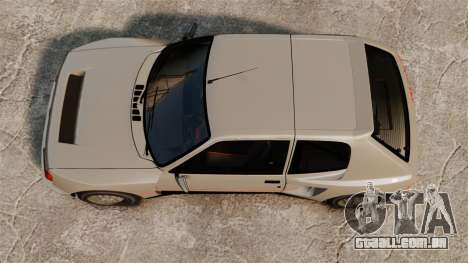 Peugeot 205 Turbo 16 para GTA 4 vista direita