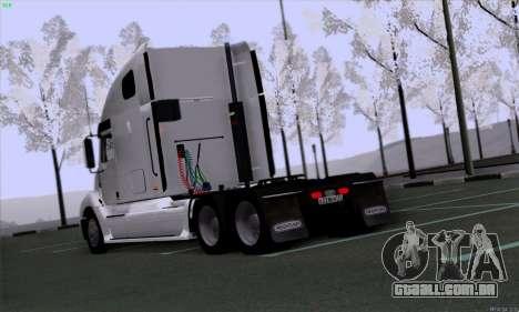Freightliner Columbia para GTA San Andreas vista direita