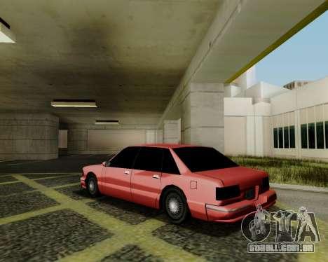 Premier tonificado para GTA San Andreas esquerda vista
