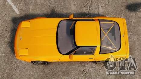 Chevrolet Corvette C4 1996 v1 para GTA 4 vista direita