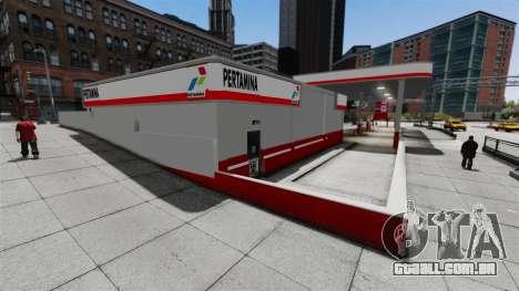 Pertamina posto de gasolina para GTA 4 terceira tela