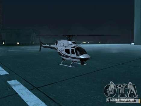 OH-58 Kiowa Police para GTA San Andreas