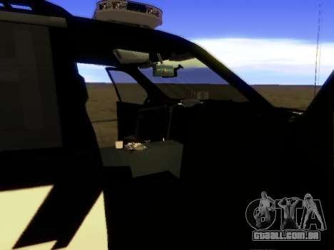 Ford Explorer 2010 Police Interceptor para GTA San Andreas vista direita