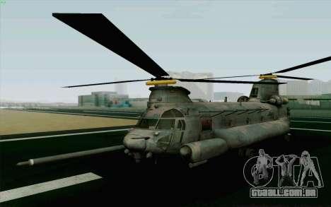 MH-47 para GTA San Andreas