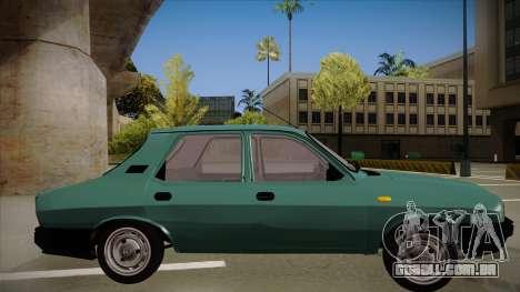 Dacia 1310 Berlina 2001 para GTA San Andreas traseira esquerda vista