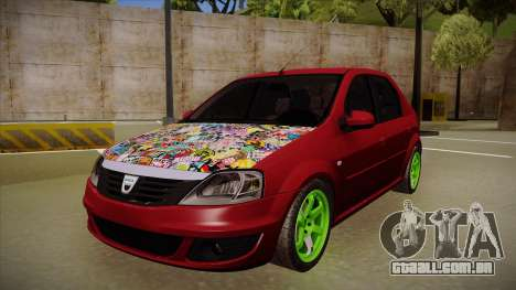 Dacia Logan Hellaflush para GTA San Andreas