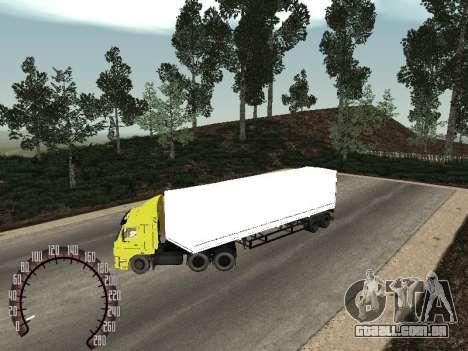 Trailer de neve Nefaz 93344 para GTA San Andreas