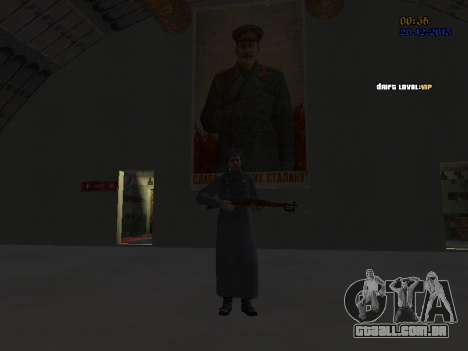 Coronel-General da Força Aérea Soviética para GTA San Andreas oitavo tela