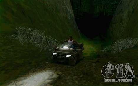ATV da medalha de honra para vista lateral GTA San Andreas