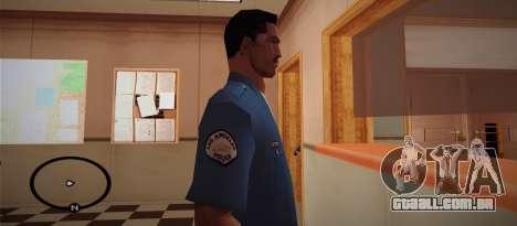 Cadet Of The Police Academy para GTA San Andreas segunda tela