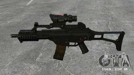 Automática HK G36C v3 para GTA 4 terceira tela