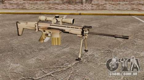 Rifle automático Mk 17 SCAR-H para GTA 4