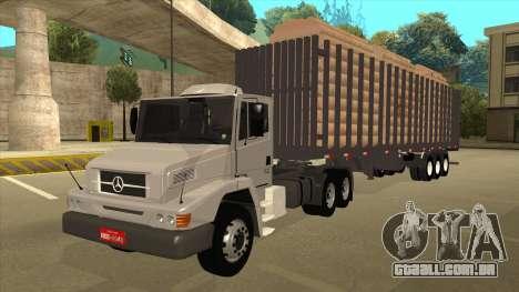 Mrecedes-Benz LS 2638 Canaviero para GTA San Andreas vista traseira